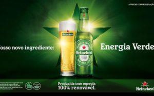 Heineken no Brasil já está sendo produzida com uso de energia renovável