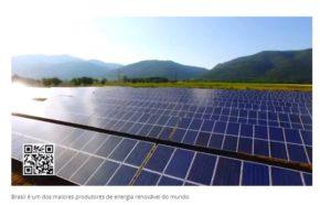 Brasil é um dos maiores produtores de energia renovável do mundo