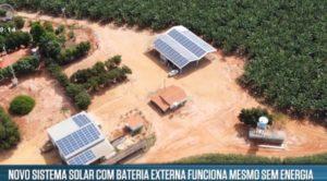 Energia solar empresa lança sistema que dispensa conexão com rede elétrica
